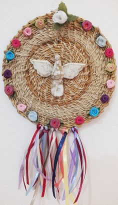 Coisicas Artesanais - Simone dos Santos Jute Crafts, Diy And Crafts, Arts And Crafts, Diy Projects To Try, Craft Projects, Ideas Geniales, Soul Art, Handicraft, Diy Art