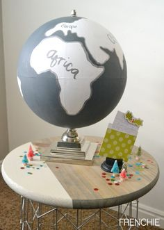 Globe Makeover: Cute DIY hone decor idea!