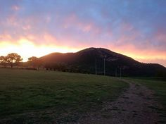Absolutely breathtaking sunset at Glenburn Lodge! Sunset after a stormy day Glenburn Lodge in EGoli, IGauteng World Heritage Sites, Country Roads, River, Sunset, Outdoor, Sunsets, Outdoors, Outdoor Games, The Great Outdoors