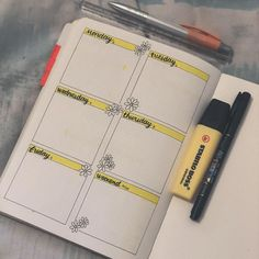 A beginner's guide to the bullet journal. Learn what a bujo is and learn how to setup your first bullet journal, without having to be an artist. See simple examples of barebones bullet journal setups.