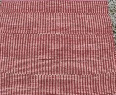 Cotton rug. I named this rug as Strong Pink. I did this because of this rug color, strenght and thickness.  Colors. I used pink knit strip and little bit darker pink terry ribbon. The weft material is high quality rug yarn produced in a small Estonian company.  The ends have been turned back and stitched by hand. No-no fringes!!!  Measurements: 100 cm x 84 cm  Width 100 cm ( 39 inches) Length 84 cm ( 33 inches)   This is good rug on bedroom floor. Or little girls room decor. Nice idea for…