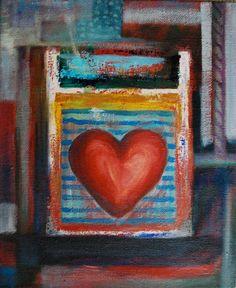 *Minä-Teen itse*: oil painting