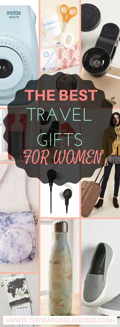 Great list of travel themed gifts for women at a variety of prices. Love it!
