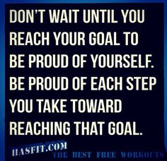 Be proud of yourself along the way #beproud #goals #Takecontrol #homebusiness #designyourlife   http://www.LifeDesigns.com.au