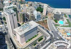 Lebanon, view of the Phoenician Hotel complex