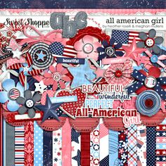 All American Girl by Heather Roselli and Meghan Mullens