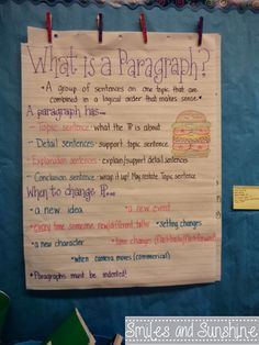 Smiles and Sunshine: Perfecting Paragraphs.... AWESOME WEBSITE TO CHECK OUT STUFF