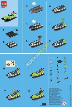 Instruckion, how to build a speed boat.