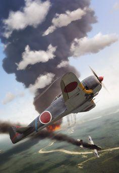""" Nakajima Ki-44 'Tojo' "", Ronnie Olsthoorn"