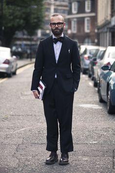 I love the way this man dresses