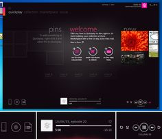 I really like the zune UI, its beautiful. Now only if it worked on a mac :(