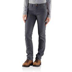 Women's, Slim Fit, Durable, Knit Work Pants