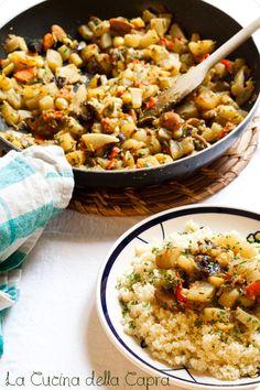 couscous minestrone