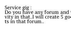 posts on your forum