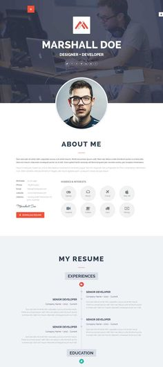 Html Cvs  Branding    Creative Creative Resume And Resume
