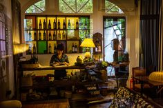 Take a tour on a vintage Vespa, pair a cocktail with a view and peer through a window to the past in Vietnam's largest metropolis.