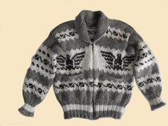 No two sweaters are alike. The fleeces come in natural colors and shades of brown, black and white. As the black sheep matures, the wool changes from brown to gray with aging, like human hair. All of the dark shades in 'Genuine Cowichan' sweaters come from this unique black sheep …