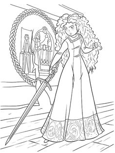 Brave Coloring Book Archives