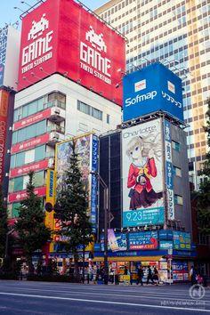 japan tokyo Akihabara akiba street manga anime photography charlotte