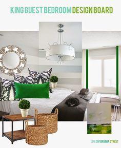 King Guest Bedroom Reveal - Life On Virginia Street
