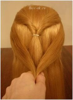 Original hairstyle in 5 minutes. Continued. Figure 3. http://beauty-health.info