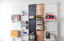 Up, Then Down: Shelves Fold Neatly Away Until Needed http://dornob.com/up-then-down-shelves-fold-neatly-away-until-needed/#axzz2sJH1YEML