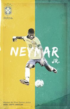 World Cup 2014 by Cristina Martinez, via Behance