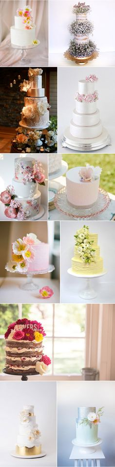 Spring-Cakes-For-Weddings.jpg 550×2,225 pixels