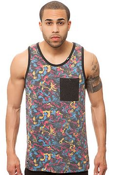 3a2ae6ba374155 The Tree 47 Tank in Black Camo by LRG