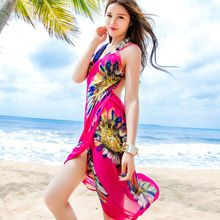 Plaj Pareo Sapan Eşarp Kadın Yaz Şifon Atkılar Şal Brace Cachecol Burun Marka Giyim Çiçek Echarpes Foulards Femme(China (Mainland))