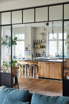 How to have an original Ikea kitchen thanks to personalized facades? - DECO PLANET at homes world- Comment avoir une cuisine Ikea originale grâce aux façades personnalisées ? – PLANETE DECO a homes world How to have an original Ikea cuisine thanks to … - Küchen Design, House Design, Design Homes, Design Room, Design Bathroom, Bathroom Colors, Design Firms, Design Trends, Kitchen Decorating
