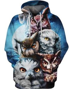 Welcome Native Store - Native American All over Print clothing – Page 5 – Welcomenative Store Owl Hoodie, Tank Top Shirt, Size Chart, Unisex, Owl Animal, Jumpers, Printing, Strong, Colors