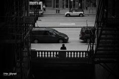 Downtown Panhandler