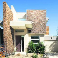 ALTERNATIVA. Puede darle movimiento y calidez a su casa con cerámicos que imitan la piedra. FOTO: San Lorenzo.