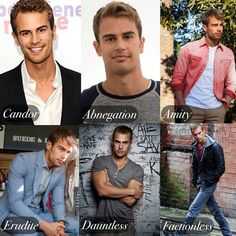 Tobias ( Theo James) in the factions