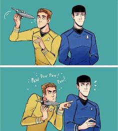 Star Trek Tos, Star Wars, Spock And Kirk, Star Trek Original Series, Starship Enterprise, Star Trek Ships, Pew Pew, Science Fiction, Fangirl