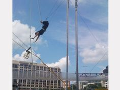 Trapeze on my 35th Bday