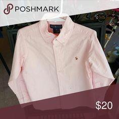 Ralph Lauren button down shirt Button down shirt  pink Ralph Lauren Shirts & Tops Button Down Shirts