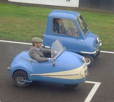 Brutsch Mopetta and PEEL P50