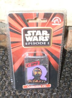 1999 C-3PO Star Wars Episode 1 Collectible Pin by Applause ~ $6.50