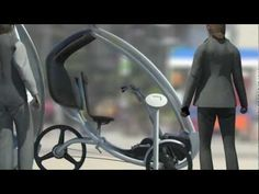PEV Persuasive Electric Vehicle Combined with Social Cycling Application Spike - YouTube