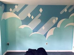 """ask-crystal-gems: """" tealdragon: """" MY STEVEN UNIVERSE INSPIRED WALL IS DONE Holy crap I spent all summer on this, lot of hard work but it more than paid off """" This is so awesome good job! """""""
