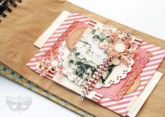 Winter fun - paper bag layout in album | Flickr - Photo Sharing!