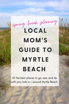 All the best places to go, see, and do with your kids in the Myrtle Beach area, according to a local mom!! Myrtle Beach Things To Do, Best Thai, Local Moms, Local Seafood, Murrells Inlet, House Viewing, Wine List, Like A Local, Done With You