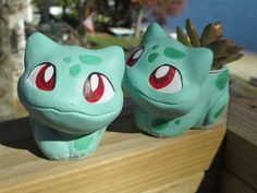 Bulbasaur Sprout Seedling Planter by tallydragon on deviantART