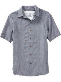 Men's Guayabera Shirts | Old Navy