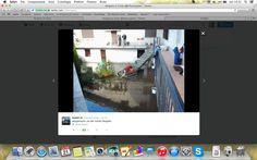 Alluvione a #Vergiate. Foto da Twitter!