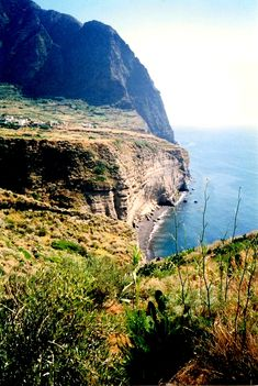 The area in the foreground is where the poet Pablo Neruda had his home with his lover in the movie Il Positano - Pollara, Salinas - Aeolian Islands - Italy