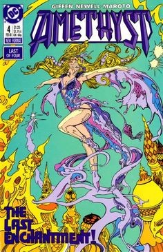 aa28889a200 (*) Twitter Amethyst Princess Of Gemworld, Dc Comic Books, Comic Book  Artists
