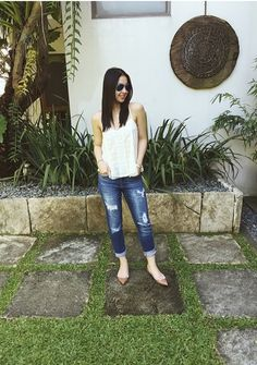 Julia Barretto Julia Barretto Fashion, Celebrity Outfits, Celebrity Style, Heart Evangelista Style, Julia Baretto, New Outfits, Casual Outfits, Filipina Actress, Ootds